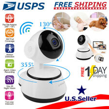 Hd Smart Home Security Wi-Fi Ip Camera 2-Way Talk Night Vision Cam Baby Monitor