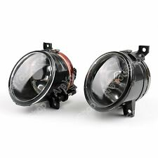Pair Front Bumper Convex Lens Fog Light For VW MK5 Golf Jetta Bora 2005-2010 Y1