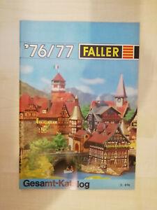 Faller Gesamt-Katalog 1976/77 - sehr guter Zustand (1415)