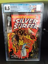 Silver Surfer #3 - CGC 8.5 Off-White to White - First Appearance of Mephisto
