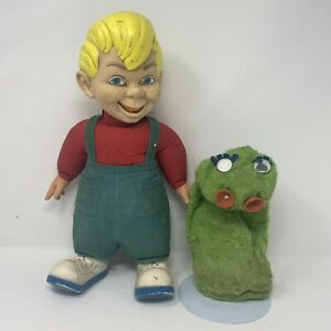 Vtg Beany and Cecil Talking Hand Puppet & Doll 1960's Mattel NON WORKING