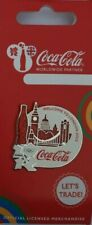 OFFICIAL COCA COLA LONDON 2012 OLYMPIC SKYLINE PIN BADGE BRAND NEW