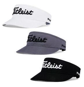 Titleist Tour Visor Golf Hat Cap New 2020 - Charcaol