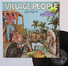 "Vinyle 33T Village People  ""Go West"""
