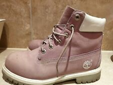 Timberland Boots Ladies Size uk size 5.5 lilac colour used