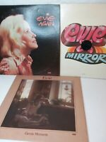 EVIE Lot Of 3 LP Records Again -Mirror -Gentle Moments