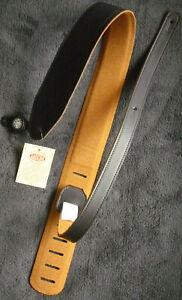 Gitarrengurt Gaucho Private Label guitar strap schwarz