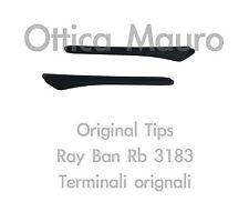 RAY BAN 3183 TERMINALI EARSOCK MATTE BLACK - ORIGINAL REPLACEMENT RB 3183