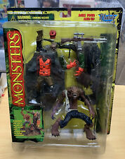Monsters Werewolf Playset Series 1 McFarlane Toys 1997 Vintage MOC New RARE