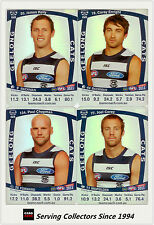 2011 AFL Teamcoach Trading Cards Silver Parallel Team Set Geelong (11)