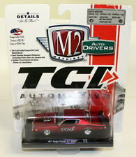 M2 Machines 1/64 SCALA 11228 1971 Dodge Charger R/T Hemi TCI Auto Modello Diecast