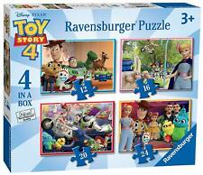 Ravensburger TOY STORY 4, 4 IN A BOX JIGSAW PUZZLES Toys Games BNIP