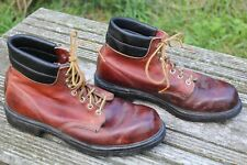 VINTAGE RED WING LEATHER WORK BOOTS SIZE 9.5