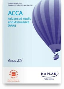 ACCA P7 Advanced Audit and Assurance (AAA) Exam Kit