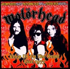 Motoerhead (Motörhead) - Keep Us on the Road - Live 1977 LEMMY 2CD NEU OVP