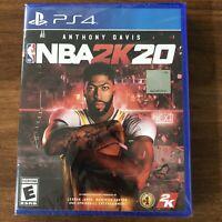 NBA 2K20 - PlayStation 4 - EA Sports NBA 2K 2020 Sony PS4 - New Sealed in Case