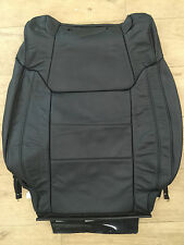 2014 Toyota Tundra Factory Original RH/PASS Heated Leather Seat Back Cover (BLK)