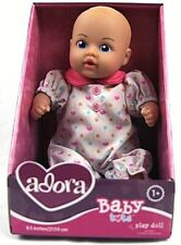 "Adora Baby Tots Doll 8.5""Washable Soft Body Play GIRL Doll for Age 1+"