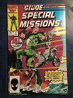 MARVEL COMICS, G.I.Joe Special Missions, #1, October 1986