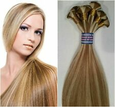 "Hand Tied Wefts for Weaves 22"" SIlky European Remy Hair Extensions Any Color"