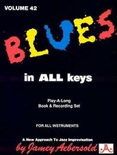 Blues in All Keys by Various Artists (CD, 1988, Jamey Aebersold, Volume 42)