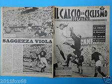 1961 il calcio e ciclismo illustrato 39 torino fiorentina hamrin udinese bologna