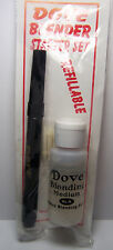 DOVE Blender Pen, Nibs, 1oz Refill Kit use with colored pencils chalks ink pads