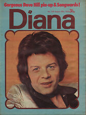 Diana Magazine No. 549 25 August 1973   Gary Glitter   Dave Hill of Slade