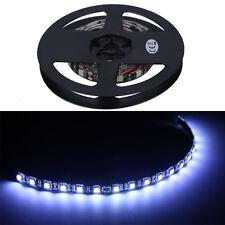 4 X 30cm 18LED 5050 White Flexible Strip Light Waterproof Car Super Bright 12V