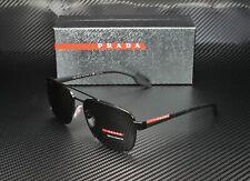Prada Linea Rossa PS 51US 1AB5S0 BLACK GREY Men's Sunglasses