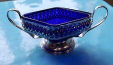 Ancien Service Pour glace pilé Présentation Caviar Oeufs de Poissons Vintage