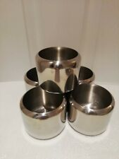 More details for stainless steel sugar bowls x 5