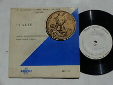 Olympiades Chant Choral amateur Paris 1956 TEST PRESSING ITALIE LDE 1058
