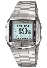 CASIO VINTAGE DB-360-1A SILVER STAINLESS WATCH FOR MEN AND WOMEN - COD+FREE SHIP