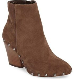 BCBGeneration JONNIE Boots Women's Pointed Toe Leather Bootie Size 7M NEW BCBG