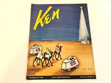 Vintage KEN Magazine DEC 29th, 1938 VOL 2 NO 13 WW2/Nazi Comics Advertising Bike