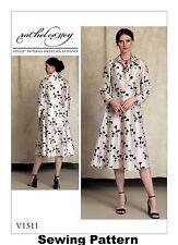 Vogue V1511 American Designer Rachel Comey  PATTERN - Misses Dress Size 6-22 -BN