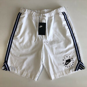 Nike Sportswear NSW Women's Retro Shorts White Sz S AR3010 100