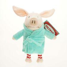 Olivia The Pig 22cm Green Bath Rope Kids Plush Soft Toy