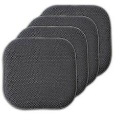 4Pk Chair Cushions Seat Pad Non Slip Honeycomb Memory Foam Home Dining Kitchen