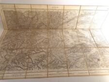 Plan Carte d'état-major, LYON  168 (Bourg) 1841