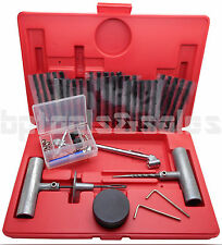 50pc Tire Repair Kit DIY Flat Tire Repair Car Truck Motorcycle Home Plug Patch