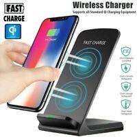 Chargeur Rapide à induction sans fil QI pour Samsung Galaxy S7/S8/S9/S10 Note 9