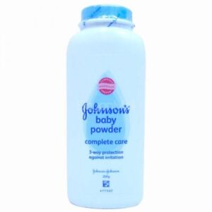 Johnsons Baby Powder 3 way protection against irritation # Complete Care 200 g.