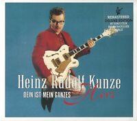 HEINZ RUDOLF KUNZE / DEIN IST MEIN GANZES HERZ - DELUXE EDITION CD 2009 * NEU *
