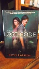 The Lost Code Bk. 1 by Kevin Emerson (2012, Hardcover) signed 1st/1st Quote