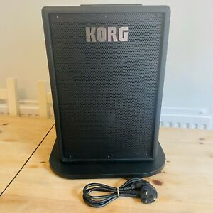 KORG MMA130 Amplifier Amp Guitar Mic Mains & Battery Powered Mobile Monitor