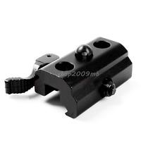 Quick Detach Bipod Sling Adapter Cam QD Lock 20mm Picatinny Weaver Rail Mount