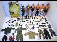 1990s Lot Hasbro GI Joe/Mattel Max Steel/Power Team Action Figures & Accessories