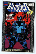 Punisher Armory Issue  #2 nm+ 1990  Marvel Comics Jim Lee cover H6